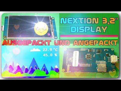 Ausgepackt und angepackt - NEXTION 3,2\