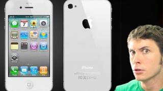 WHITE IPHONE 4!