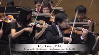 3rd JMLISC Noa Even (USA) Concertant by M. Constant
