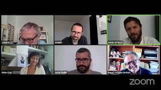 Entrevista Javier Padilla, Joaquin Hortal, Miguel Melguizo y Ángel Estella con Maite Cruz