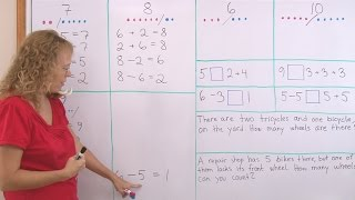 Fact Families - Addition & Subtraction - 1st Grade Math