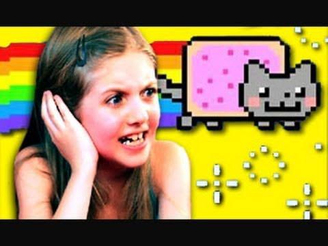 Děti reagují na Nyan Cat