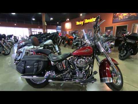 2008 Harley-Davidson Heritage Softail Classic Firefighter SE FLSTC