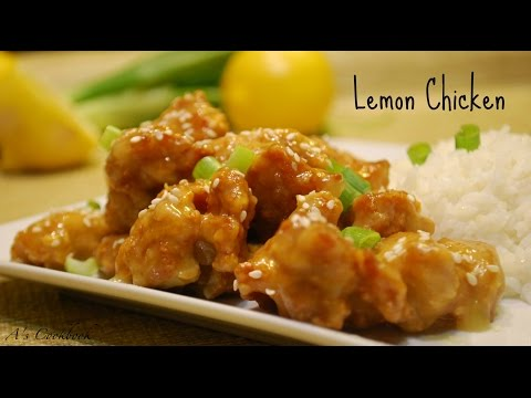 Lemon Chicken Recipe – Chinese Style