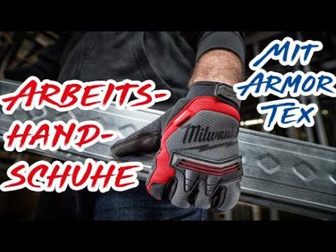 MWK Shop - Milwaukee Arbeitshandschuhe speziell für Handwerker