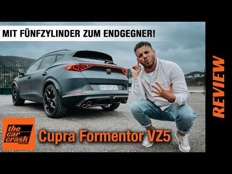 Cupra Formentor VZ5 (2021): Mit FÜNFZYLINDER und 390 PS zum ENDGEGNER! ✋ Fahrbericht | Review | Test