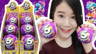 แกะไข่เซอร์ไพรส์ 5 ชั้น Series 2 !! ไข่ที่มีของเล่น 5 อย่างในใบเดียว ~  คุ้มมากกก   5 Surprise Balls