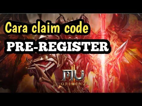 How to redeem pra registration MU-Origin 2 - Salim Seymore - Video