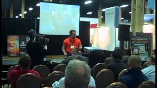 Live Demo: Moisture Measurement in Concrete at Surfaces 2013