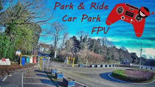 Flying FPV at disused car park