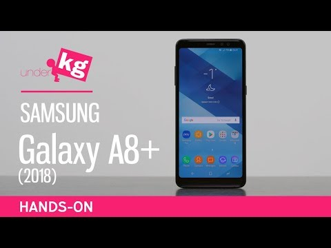 Samsung Galaxy A8+ (2018) Hands-on [4K]