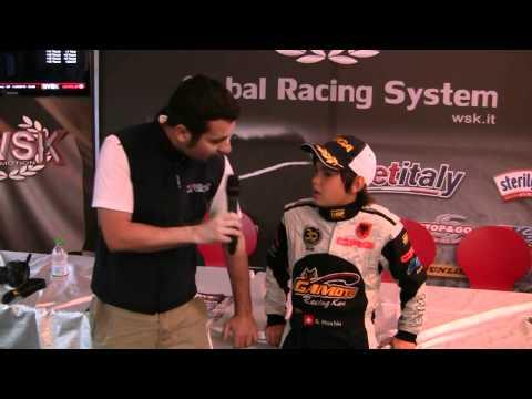 Il piccolo campione albanese che andrà in Formula1