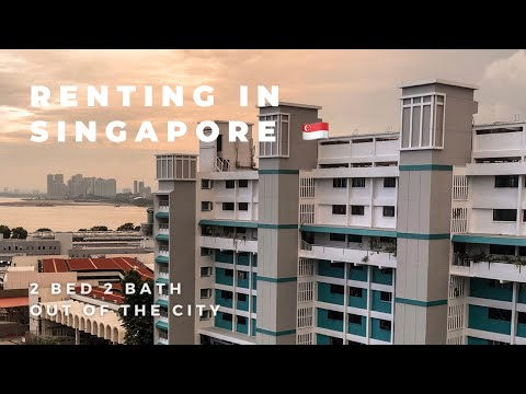 RENTING A HDB FLAT IN SINGAPORE | APARTMENT TOUR