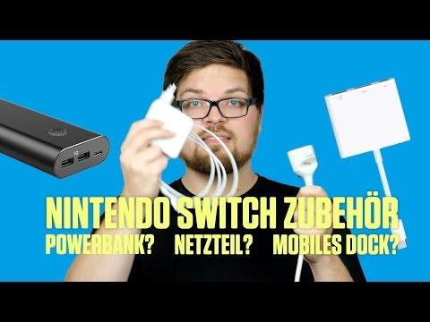 Nintendo Switch und USB C-Zubehör? – Akkus, Docks, Netzteile