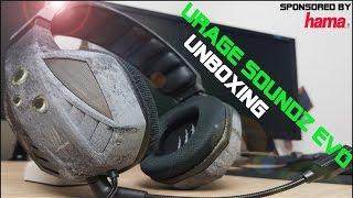 Hama Gaming Headset / uRage SoundZ Evo Unboxing [German / Deutsch]