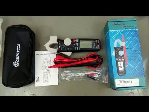 Alicate amperímetro Mustool MT866 (review por dentro e por fora) - Banggood