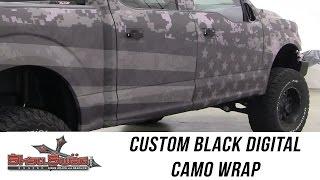 Freedom Ford: Custom Digital Camo Wrap from ShellSWAG