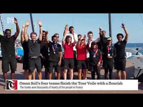 Oman Sail's four teams finish the Tour Voile with a flourish