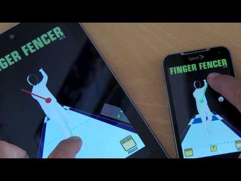 Video of Finger Fencer