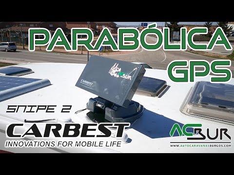 ANTENA PARABOLICA CARBEST SNIPE 2 - Autocaravanas Burgos - Venta y alquiler