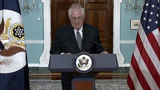 """Iran nuclear deal branded a """"failure"""" by US Secretary of State Rex Tillerson"""