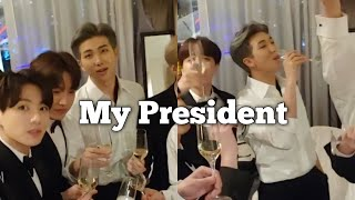 Kim Namjoon Is MY President