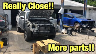 Rebuilding a Wrecked 2015 Toyota 4Runner Limited Part 8 From Copart Salvage Auction