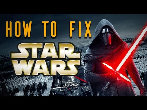 HOW TO FIX Star Wars: The Force Awakens - Dude Soup Podcast #50