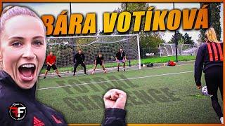 Bára Votíková nás učí, jak pořádně hrát FOTBAL?! | Freemove