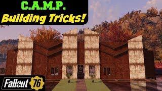 Fallout 76: C.A.M.P. Building Tricks!