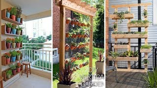 🍁 5 DIY Clever Living Walls And Vertical Garden You Must Check: Some Clever Inspirations 🍁