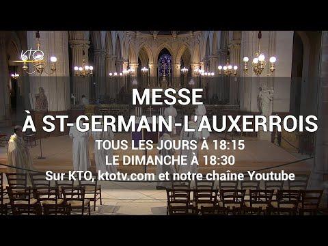 Messe du 25 mars 2020 à St Germain-l'Auxerrois