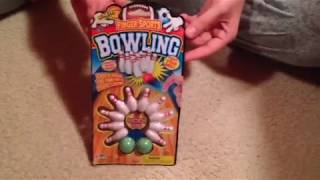 VLOG:  Finger Sports Bowling Unboxing Video