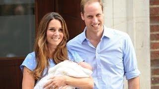 Уильям и Кейт показали маленького принца миру новости