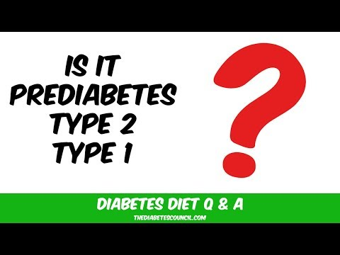 How To Know If It's Prediabetes, Type 1 Or Type 2 Diabetes?