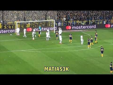"""""""Boca 2 Paranaense 0 Lib19 / No te deja de alentar"""" Barra: La 12 • Club: Boca Juniors • País: Argentina"""