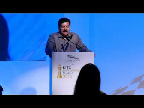 CV Sankar IAS at Jaguar RITZ Entrepreneurship Summit 2016, Chennai