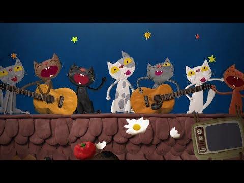 Семь кошек - Музыкальный мультик -  Союзмультфильм 2015