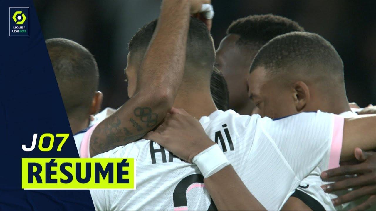 Résumé 7ème journée - Ligue 1 Uber Eats / 2021-2022