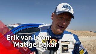 Erik van Loon bij de finish: 'Matige Dakar'