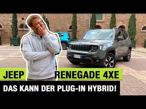 2020 Jeep Renegade 4xe (240 PS)🔋🔌 Das kann der Plug-in Hybrid! Fahrbericht | Review | Trailhawk 🦅