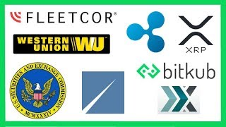 SEC ICO Regulation - FLEETCOR to Buy Western Union Business (Ripple XRP) - XRP Flow BTC & Poloniex