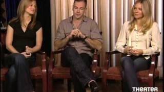 Сиенна Миллер, Sienna Miller, Jonny Lee Miller, and Marin Ireland