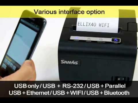 SAM4S  ELLIX30 40 Βίντεο Παρουσίασης