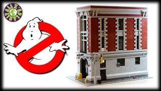 Stop Motion Review and Compare Lego Ghostbusters Firehouse with TOP 5 Lego sets in my collection