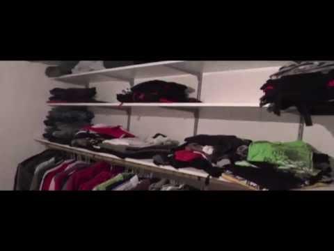 Wie ein Regalsystem anbringen, Ankleidezimmer selber machen
