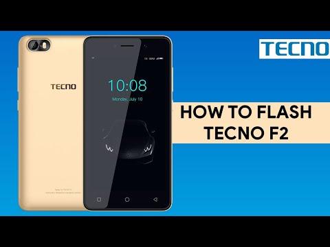 How To Flash Tecno F2 - [romshillzz]