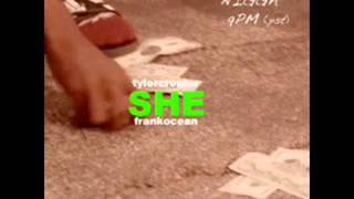 Tyler The Creator Ft. Frank Ocean   She (Instrumental)