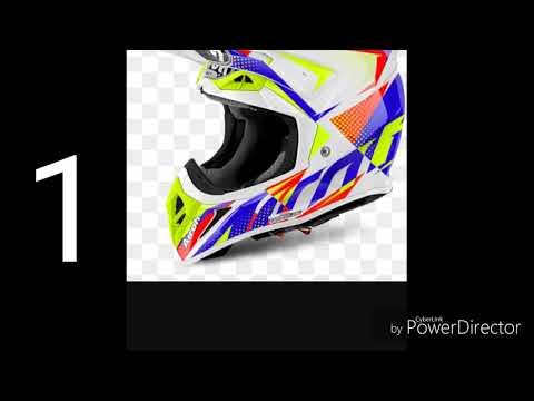 Top 10 caschi moto cross