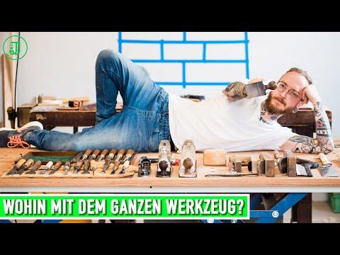 Coole Ideen gesucht: Wohin mit dem ganzen Werkzeug? | Werkzeugschrank DIY | Jonas Winkler